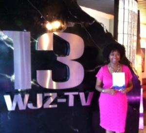Surina Ann Jordan at WJZ TV